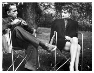 Humphrey Bogart & Audrey Hepbun