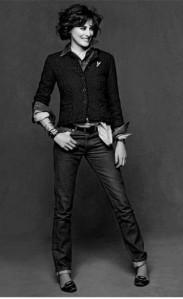 """Ines de la Fressange In Chanel's """"Little Black Jacket"""""""
