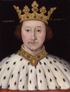 King Richard II (1367-1400)  Reigned 1377-1399-