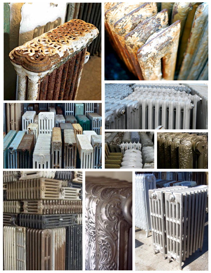 Vintage Architectural Embellishments Of Form & Function:  The Grand Radiator