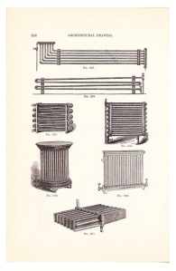 Vintage Details Of Form & Function:  The Radiator