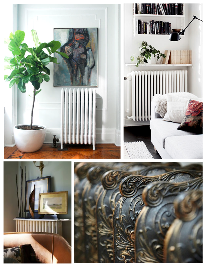 Shapes Of Visual Interest & Warmth:  The Radiator