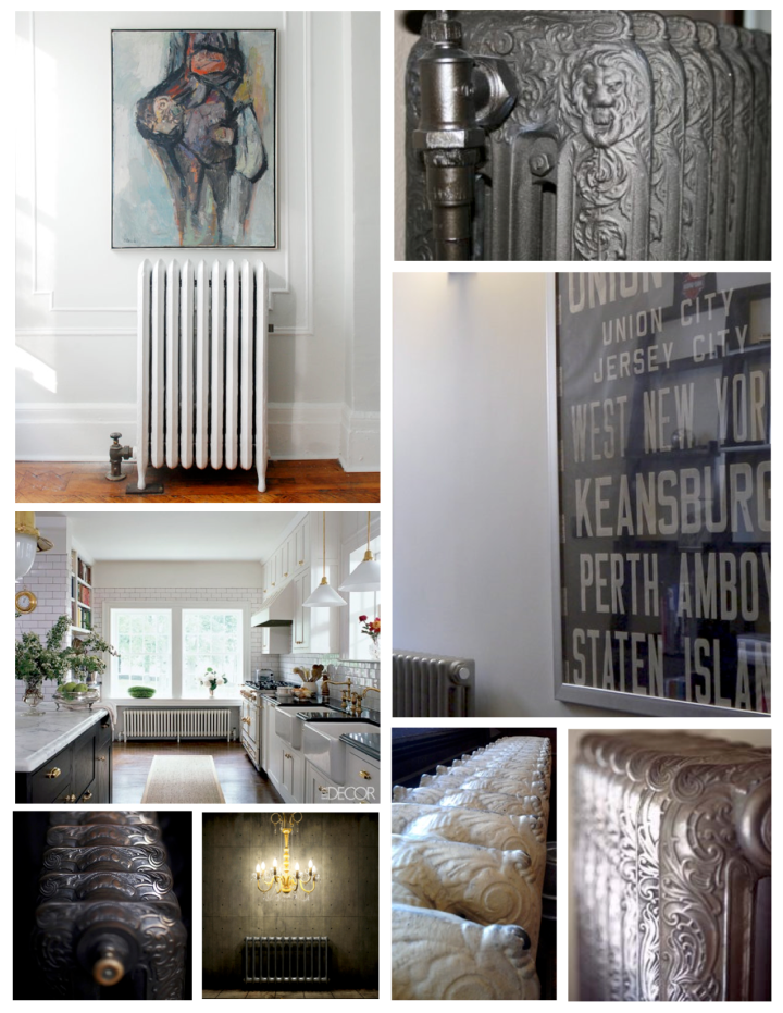 Ornate Style With Warmth:  The Vintage Radiator