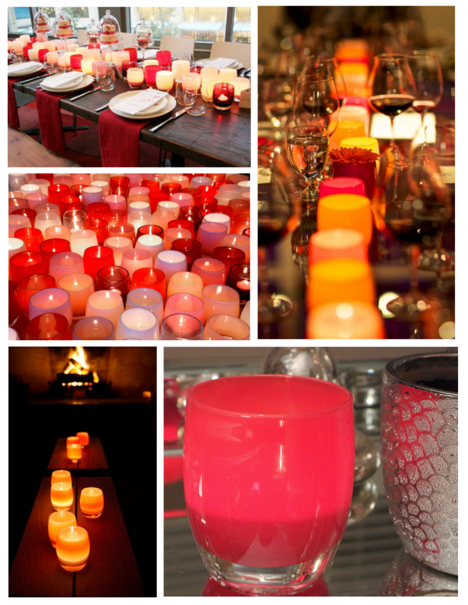 Glowing Elegance Of Colorful Allure:  glassybaby