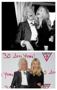 GUESS 30 Year Anniversary:  Ellen von Unwerth/photographer & Her Muse/Claudia Schiffer