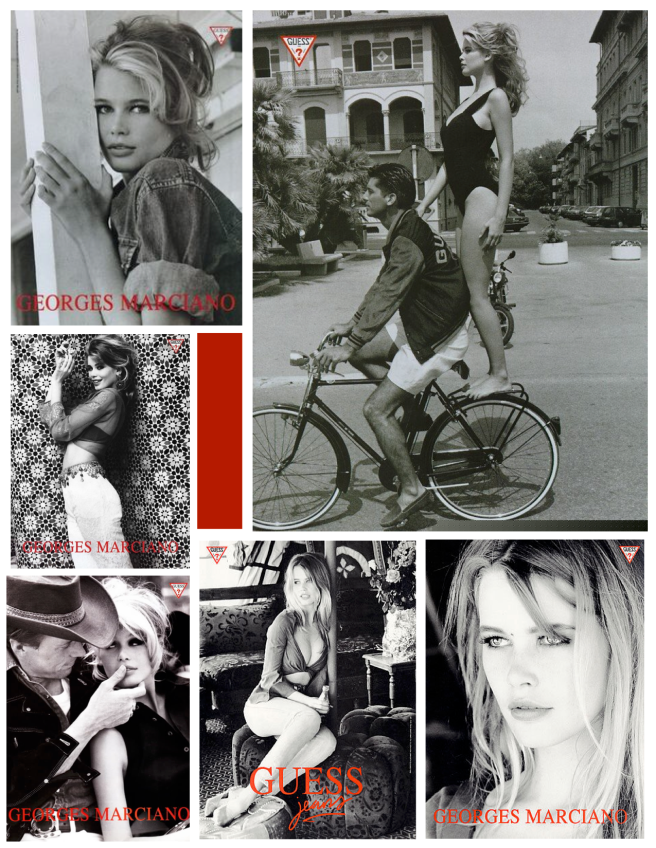 Georges Marciano's Guess & Claudia Schiffer:  Iconic Images Of Branded Style