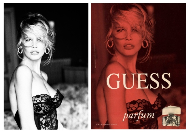 Claudia Schiffer:   Branded As An Icon Of GUESS