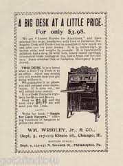Vintage Advertisement: The Desk Hutch Of Purpose
