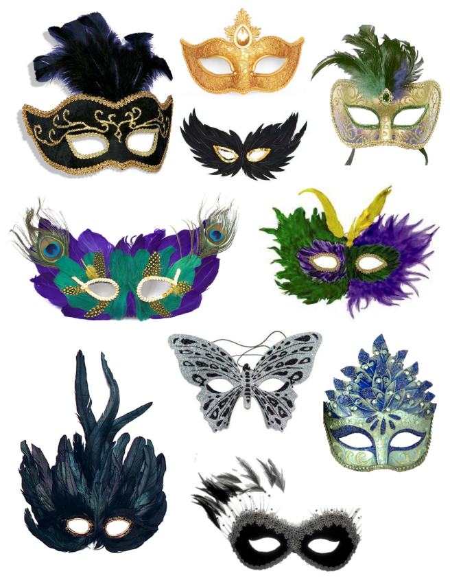"Mardi Gras ""Masks"" Of Disguise"