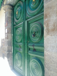 The Painted Green Door