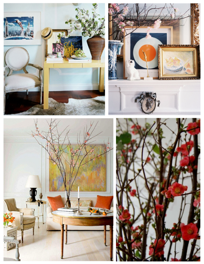 Arrangements From Nature:  Captivating Spring Blooms From Forced Branches