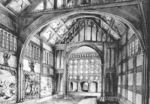Historic Renderings:  Quatrefoil Within The Interior