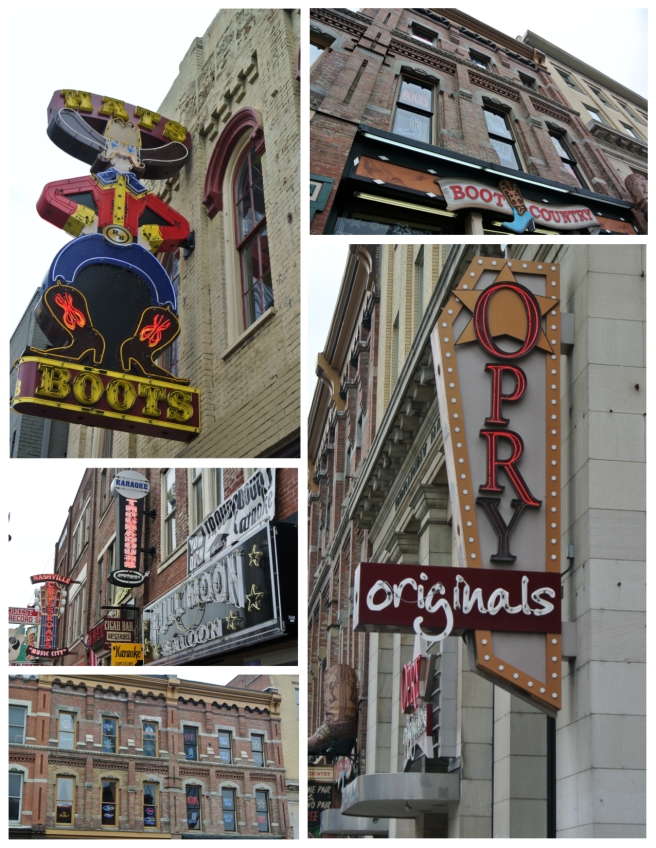 Street Views:  The Colorful Signage Of Nashville, Tennessee
