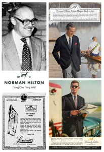 Norman Hilton:  (1919-2011) Ivy Leauge Designs Of Tradition, Quality & Style