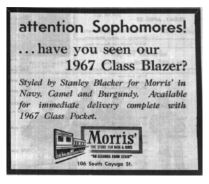 Vintage Advertisement:  The Class Blazer