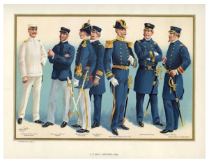 "Historical Naval Tradition:  The Blue  Blazer & ""Gold"" Buttons Of Naval Insignia"