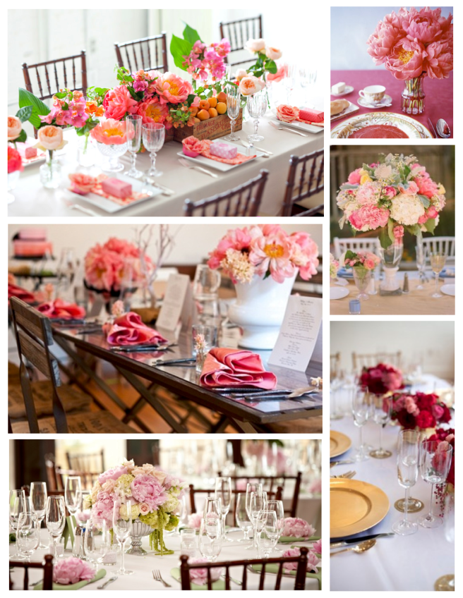 Vibrant & Demure  Spring Color:  The Blooming Tabletop