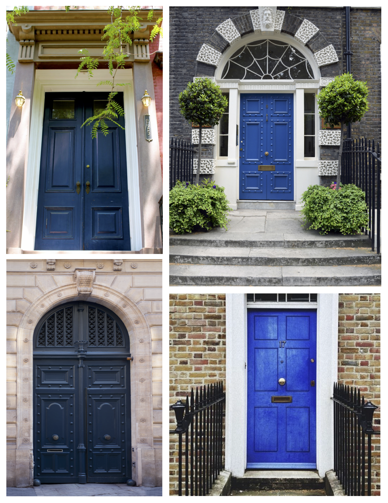 Exterior color inspirations the regal brilliant painted for Exterior house doors