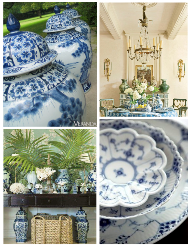 """Oriental Themes Of Visual Delight:  """"Blue Willow"""""""
