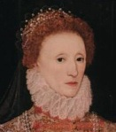 """Queen Elizabeth I Adorned In A """"Ruff"""""""