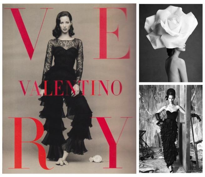 Homage To Ruffles Adorning Iconic Model Christy Turlington