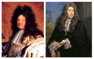 King Louis XIV  & Landscape Architect  Andre Le Norte
