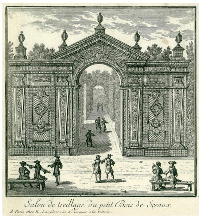 Louis XIV & Landscape Architect  Andre Le Norte:  The Elaborate Formal French Gardens Of Versailles
