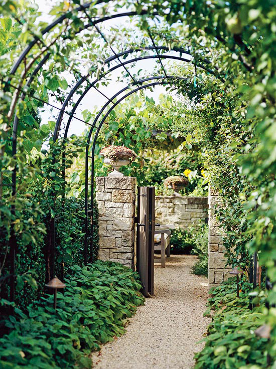 Enclosures Open To The Sky:  The Arbor