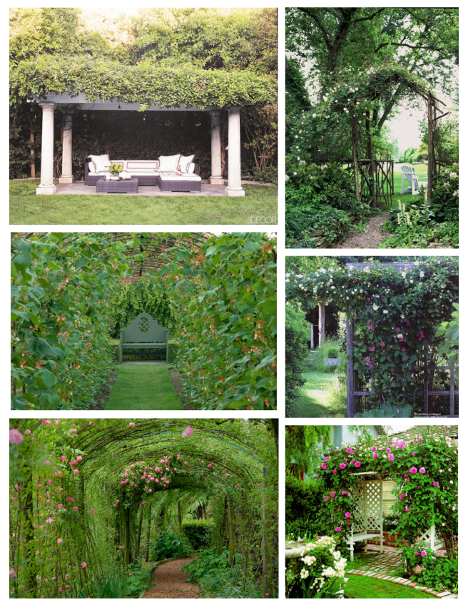 Shelters Of Nature:  Arbors Of Landscaping Appeal