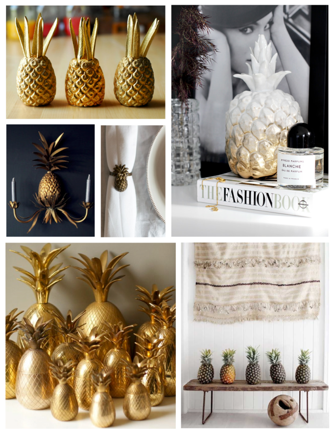 "Nature's Tropical ""Bounty"" Within The Interior: The Pineapple"