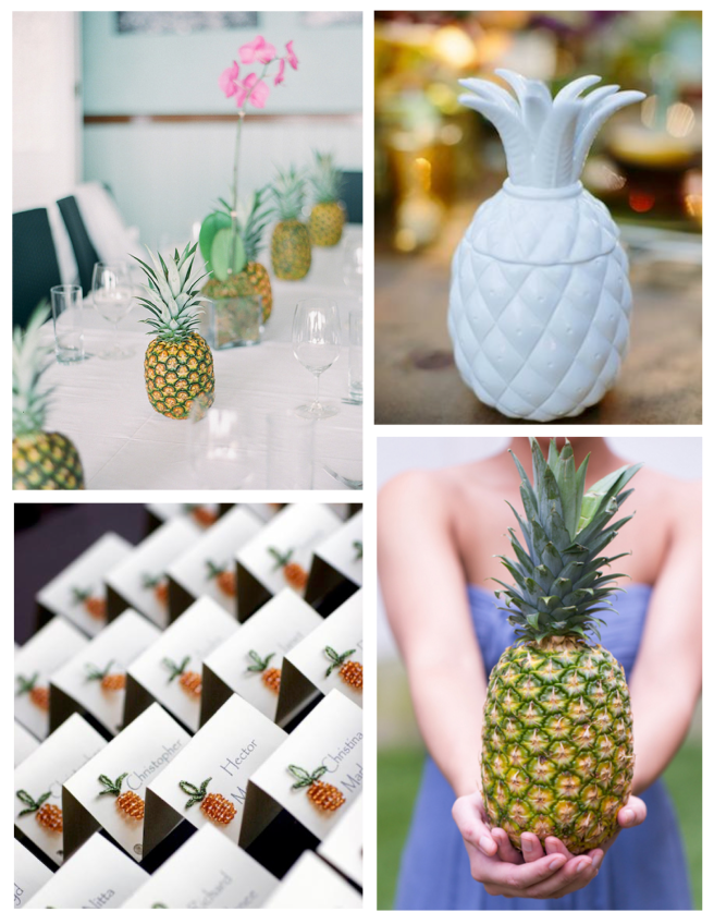 Memorable Events Embellished  With The Pineapple