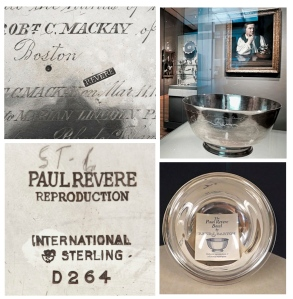 "Paul Revere's  ""Liberty Bowl"""
