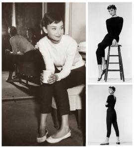 1950's Audrey Hepburn:  Iconic Images In Ballet Flats
