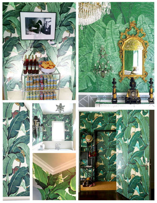 Graceful Leaves Of Patterned Appeal:  The  Motif Of The Banana Leaf