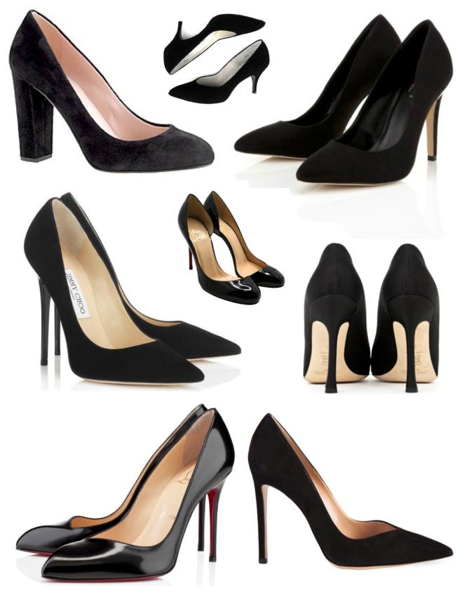 A Timeless Classic: Black High Heels