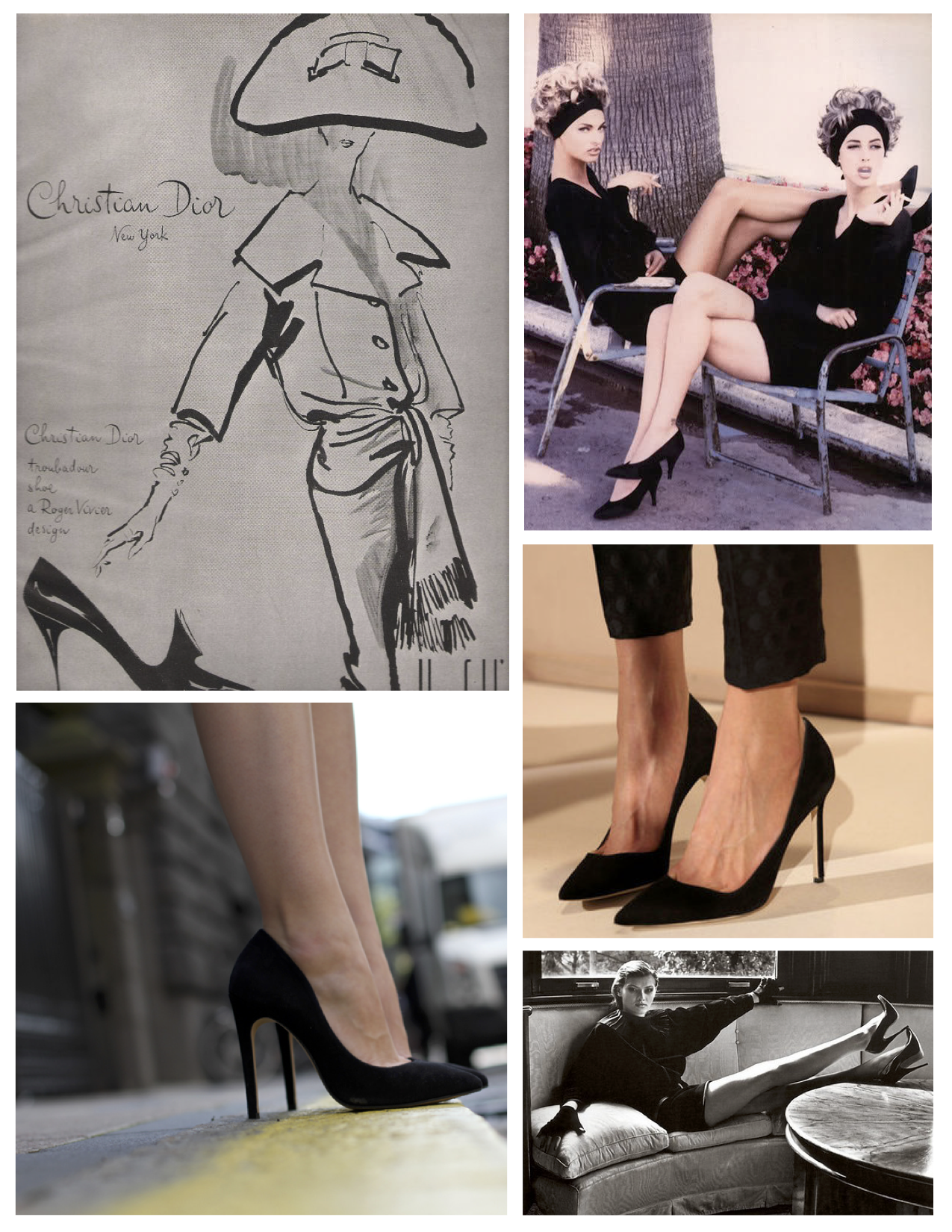 a59316a2a34 Heights Of Fashion  The Allure Of Black High Heels A Classic  The Timeless  Black High Heels