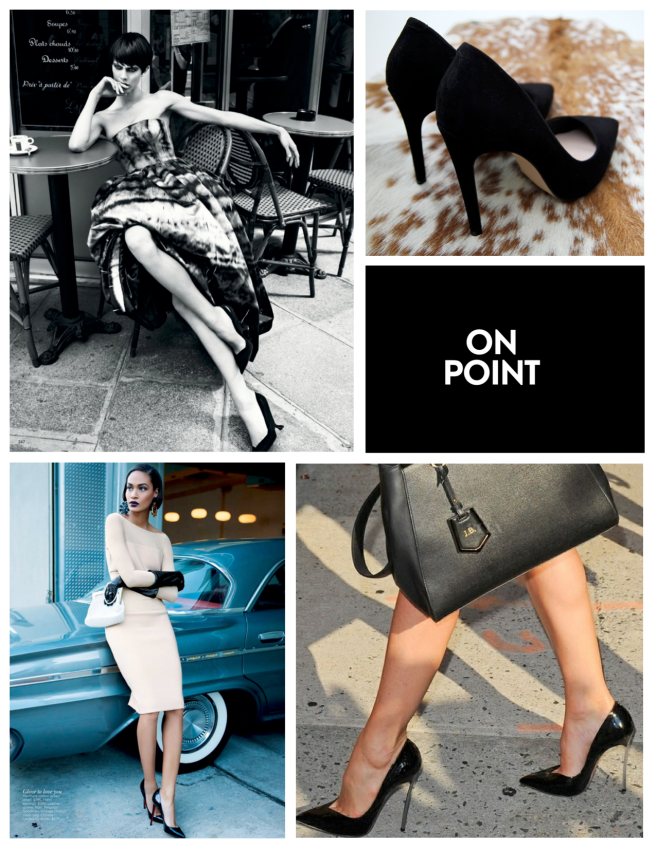 "Black High Heels: An Enduring ""Point"" Of Style"