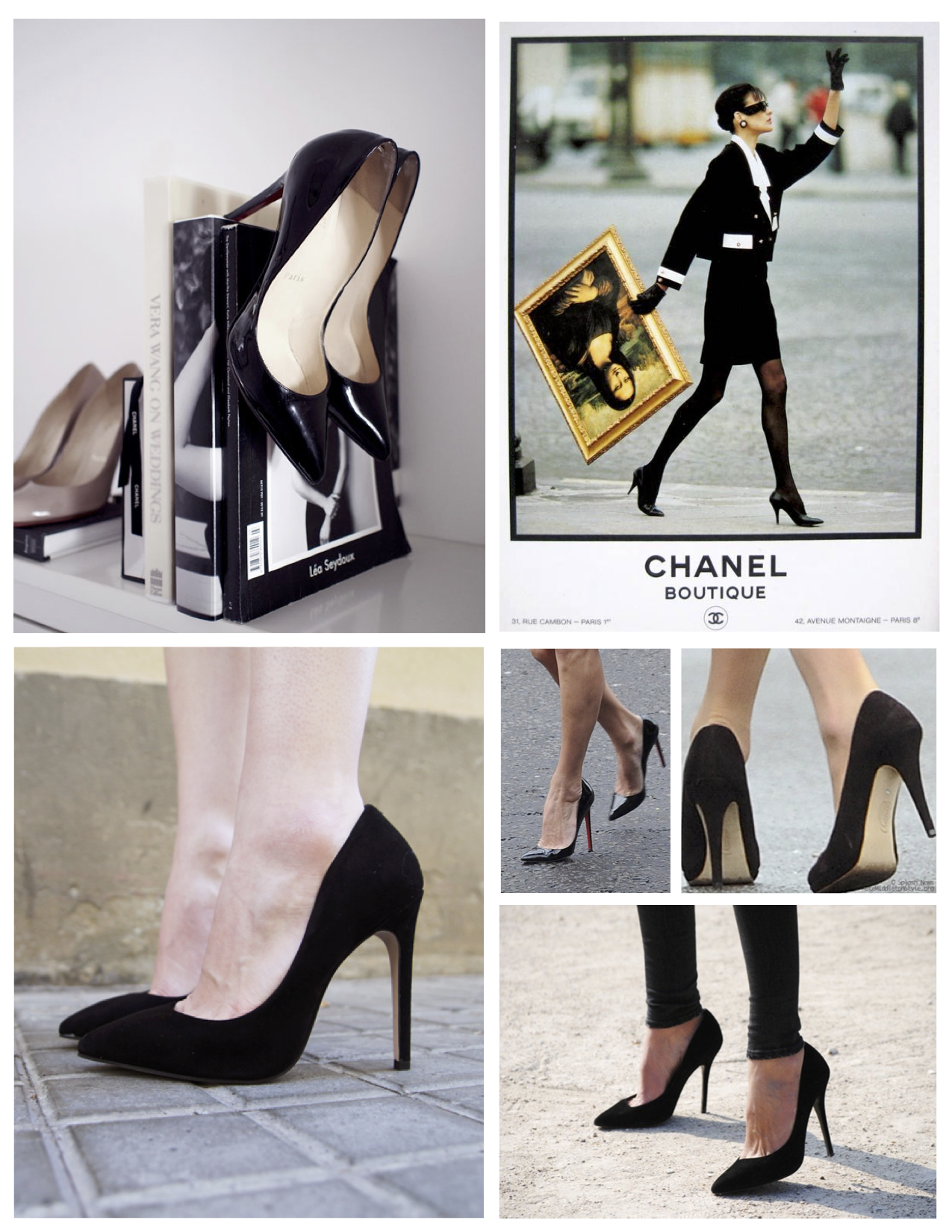 caa302aa445b ... A High Instep Of Fashionable Style: The Classic Black High Heels