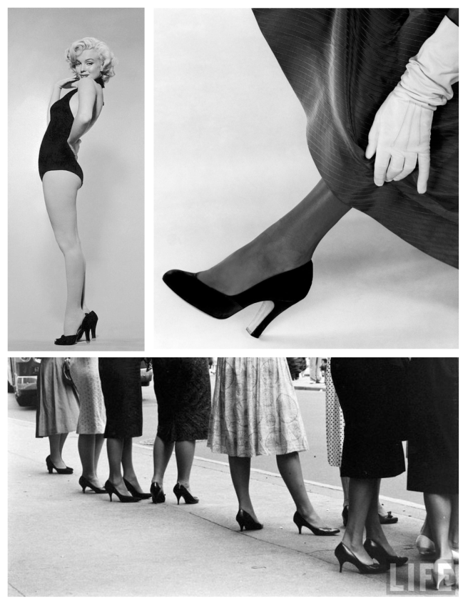 Heeled Style:  Vintage Reflections Of The Timeless Black Heels