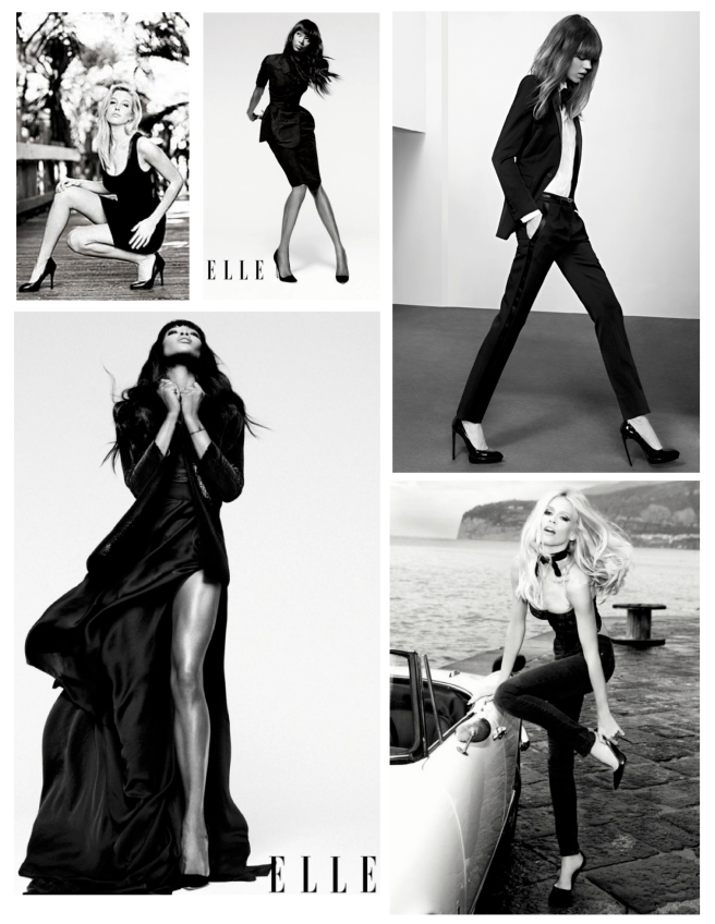 A Fashionable Rise In Style:  The Enduring Black High  Heels