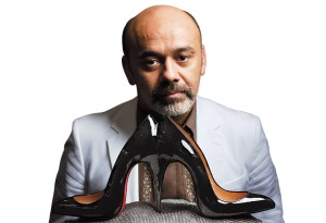 French Designer Christian Louboutin & His Red Lacquered Soles