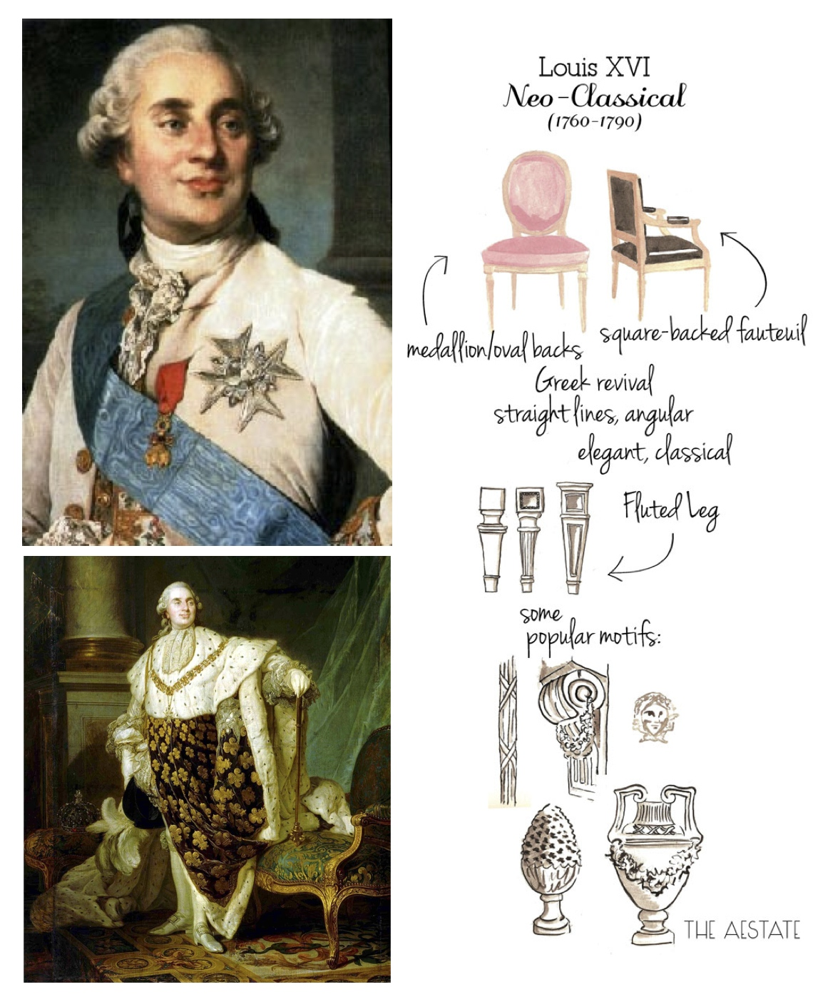 """French By Royal Design: The """"Louis"""", """"Fauteuil"""" & """"Bergere"""" Chair ..."""