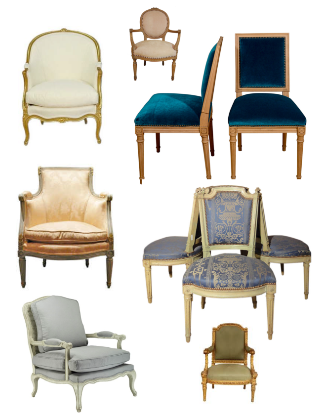 "The Timeless ""Louis"" Chair:  Inspired By The Reigns Of French Kings"