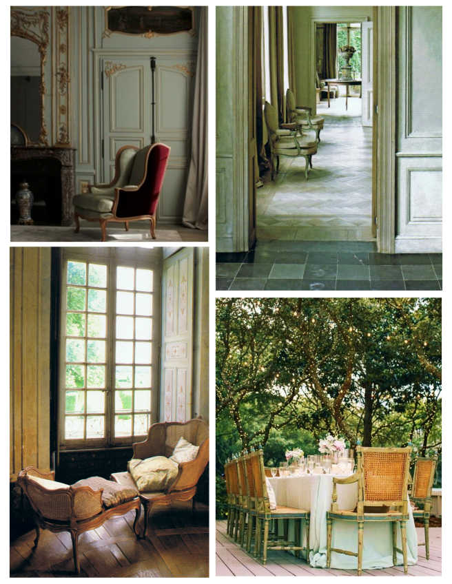 A Chair Of Kings:  The French Armchair Of Timeless Style