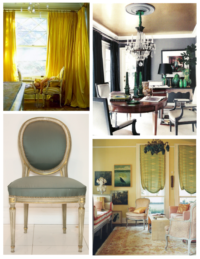 "Upholstered Design Of Classic Style:  The French ""Louis"" Chair"