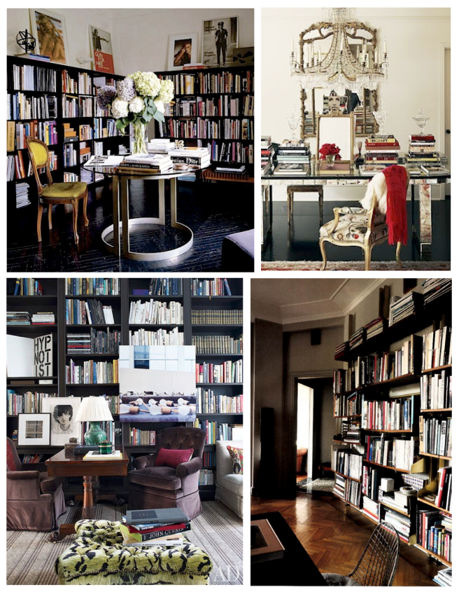 Decorative Display Of Form Function:  Books Within The Interior
