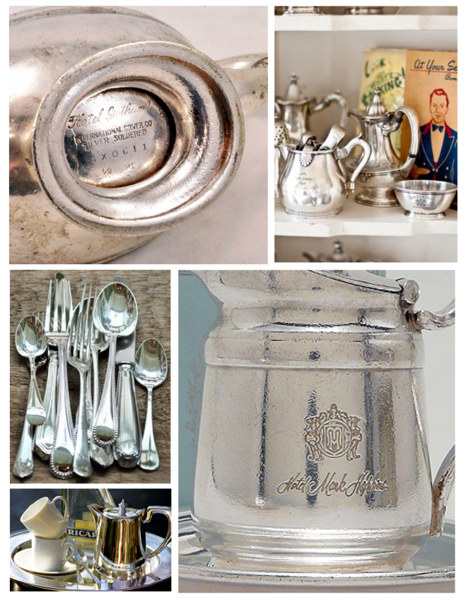 Serveware With A History:  Hotel Silver