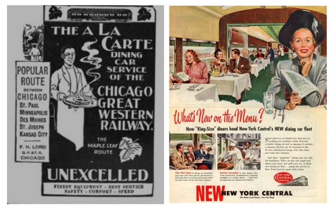 Train Travel:  The Elegant World Of Dining On The Rails