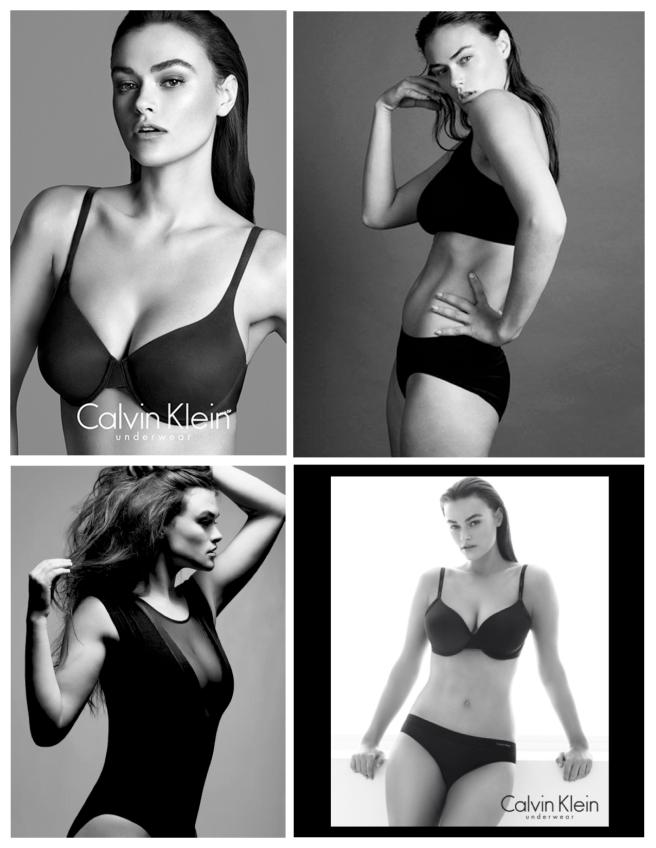 2014:  Calvin Klein's Underwear Campaign With Myla Dalbesio