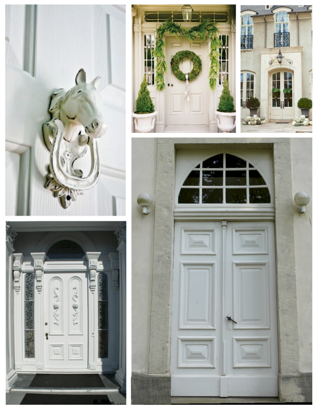 White Delight:  The Exterior Appeal Of The Painted White Door